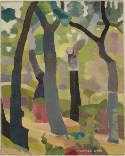 Ernest Yarrow Jones Ernest Yarrow Jones British 1872 1951 Mysterious Woods