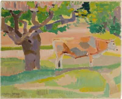 Ernest Yarrow Jones Ernest Yarrow Jones British b 1872 d 1951 Les Chenes Liege painting