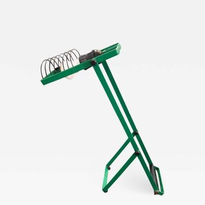Ernesto Gismondi Ernesto Gismondi for Artemide Green Adjustable Table Lamp 1976