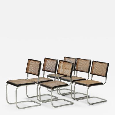 Ernst Koller 6 Ernst Koller Prototype Cantilever Chairs 1934