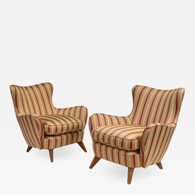 Ernst Schwadron Pair of Ernst Schwadron Lounge Chairs