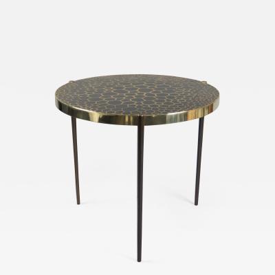 Erwan Boulloud Bronze Side Table by Erwan Boulloud France 2017