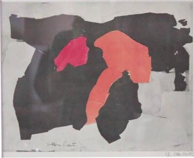 Esteban Vicente Esteban Vicente Lithograph 1962