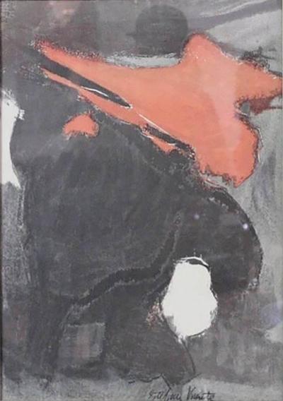 Esteban Vicente Lithograph 1960