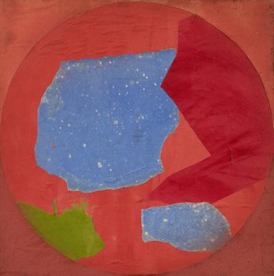 Esteban Vicente Study for Tapestry