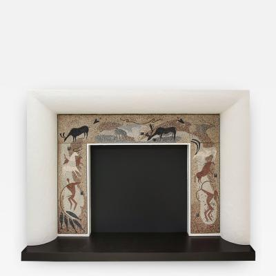 Esther Bruton Fireplace Surround