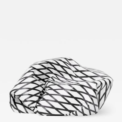 Esther Stocker WRINKLE PLANET KNITTERPLANET small sofa settee armchair