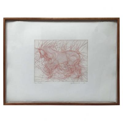 Etching by William Azoulay