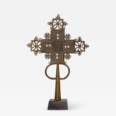 Ethiopian Coptic Processional Cross