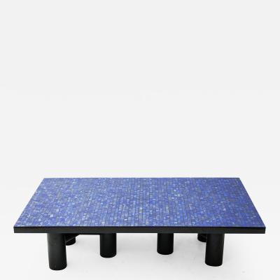 Etienne Allemeersch Lapis Lazuli coffee table