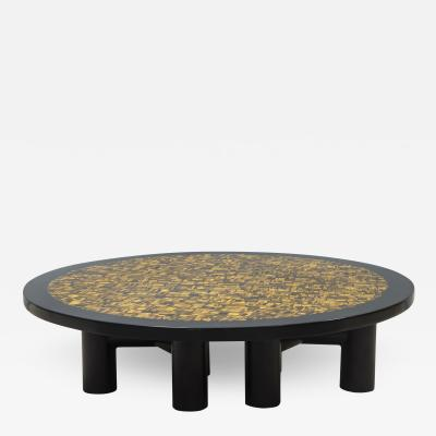 Etienne Allemeersch Tiger eye coffee table