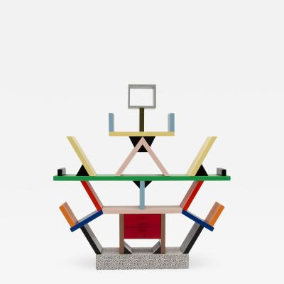 Ettore Sottsass A miniature of the iconic Carlton bookcase designed by Sottsass Memphis Milano