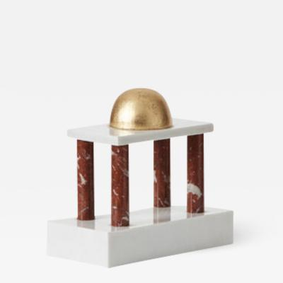 Ettore Sottsass Architectural sculpture by Sottsass 1 Ultima Edizione Italy 1986