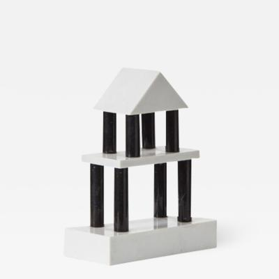 Ettore Sottsass Architectural sculpture by Sottsass 2 Ultima Edizione Italy 1986