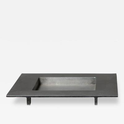 Ettore Sottsass Cast Aluminum Centerpiece by Ettore Sottsass for Il Sestante