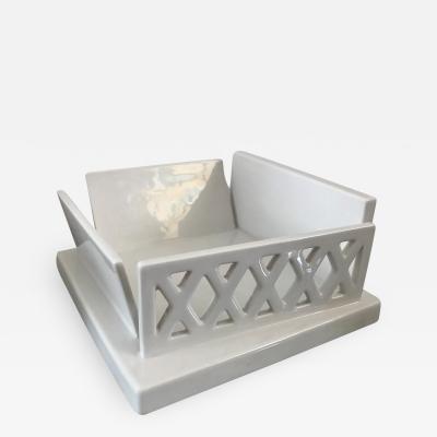 Ettore Sottsass Ceramic Centertpiece mod E74 by E Sottsass