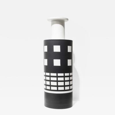 Ettore Sottsass Ceramic vase by Ettore Sottsass ed Bitossi circa 1980