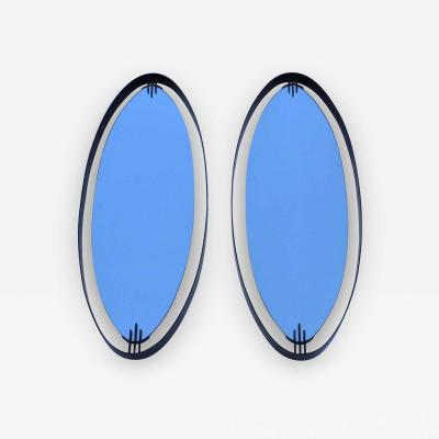 Ettore Sottsass Ettore Sottass Atributed Modernist Italian Mirrors