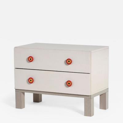 Ettore Sottsass Ettore Sottsass 1960s chest of drawers in painted wood