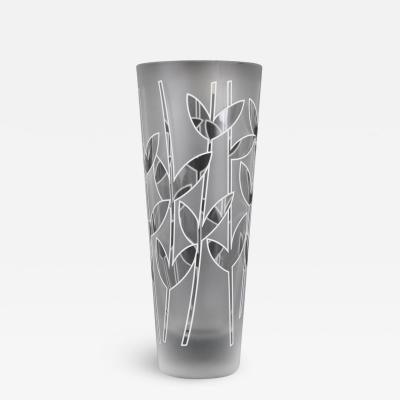 Ettore Sottsass Ettore Sottsass Associati Glass Vase