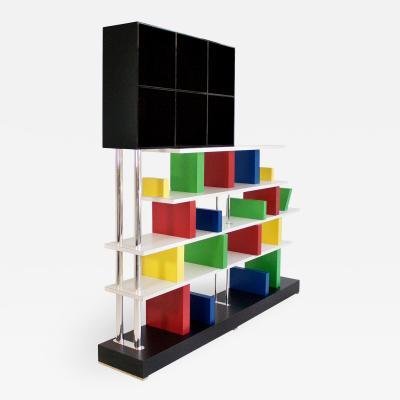 Ettore Sottsass Ettore Sottsass Bookshelf circa 1980 Italy