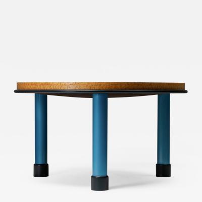 Ettore Sottsass Ettore Sottsass Burl Wood Coffee Table Memphis 1990s