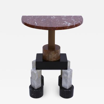 Ettore Sottsass Ettore Sottsass Contemporary Modern Demilune Mod Demistella Italian Console