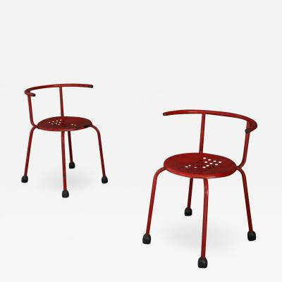Ettore Sottsass Ettore Sottsass PAIR OF VINTAGE ARM CHAIRS 1960S