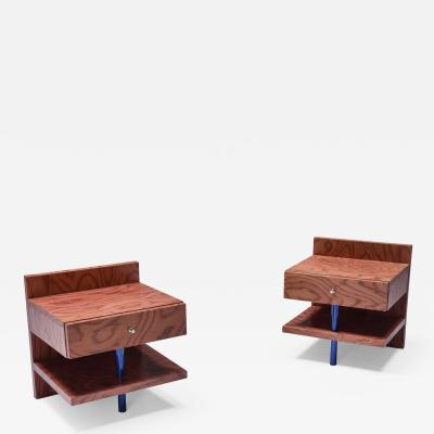 Ettore Sottsass Ettore Sottsass Side Tables for Leitner 1970s