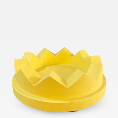 Ettore Sottsass Fruit bowl Camomilla by Ettore Sottsass produced by Alessio Sarri 2017