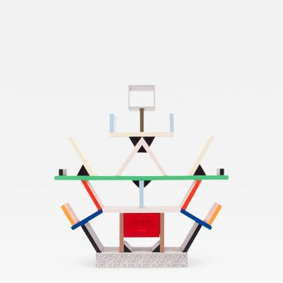 Ettore Sottsass Limited Edition Miniature Carlton Collectible Ettore Sottsass 1990s