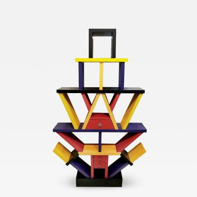 Ettore Sottsass Memphis Style tag re Manner of Ettore Sottsass