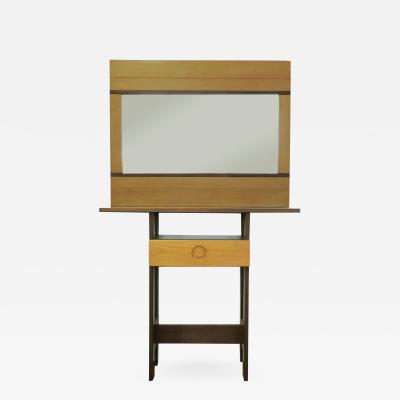 Ettore Sottsass Rare Arch Ettore Sottsass Jr Totem console with mirror for Poltronova
