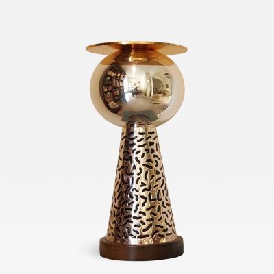 Ettore Sottsass Vase German Silver 1988 Ettore Sottsass