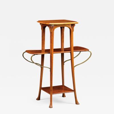 Eug ne Gaillard Art Nouveau Sellette by Gaillard