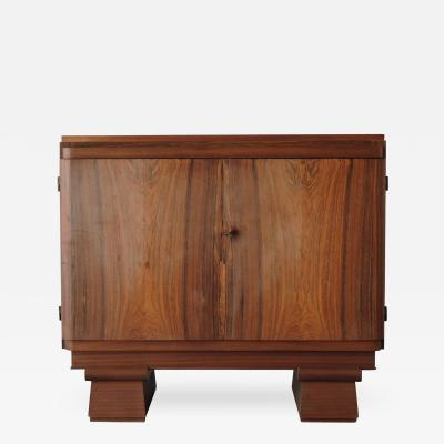 Eug ne Vallin Small French Art Deco Rosewood Buffet