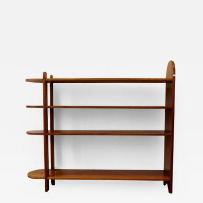 Euge ne Printz An Art Deco Mahogany Shelf or Bookcase by Euge ne Printz 1932
