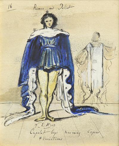 Eugene Berman Costume Design for Romeo Juliet by Eugene Berman