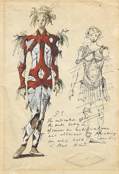 Eugene Berman Costume Designs by Eugene Berman