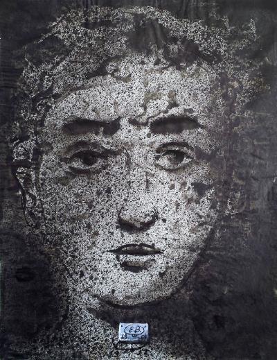 Eugene Berman Portrait of Mythological Figure