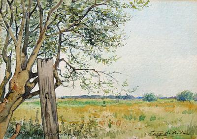 Eugene Delatre Lion sur Mer Calvados
