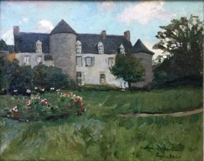 Eugene Lawrence Vail Chateau du Bourblanc Plourivo Brittany France