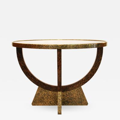 Eugene Printz Eugene Printz Palmwood Coffee Table 1935