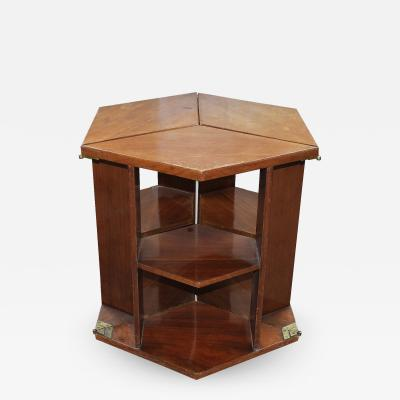 Eugene Printz Eugene Printz Walnut Folding Bookcase Table 1930