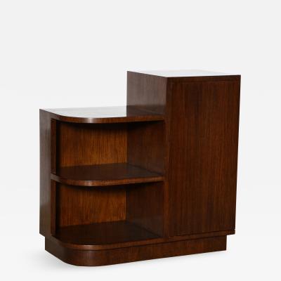 Eugene Schoen Unique Step Cabinet by Eugene Schoen