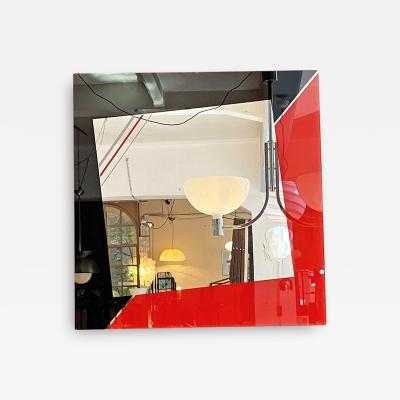 Eugenio Carmi Decorative mirror by Eugenio Carmi for Acerbis 1980s