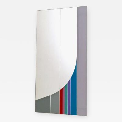 Eugenio Carmi Wall Mirror by Eugenio Carmi from the Morphos Collection prod by Acerbis 1984