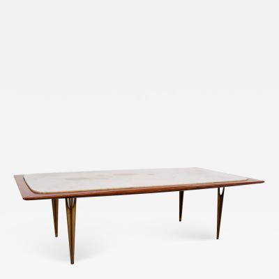 Eugenio Escudero Mexican Midcentury Modernist Coffee Table circa 1950s Eugenio Escudero