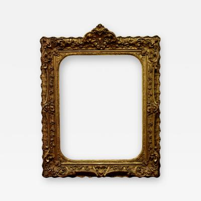 European 1850 Louis XV Picture Frame 27x34