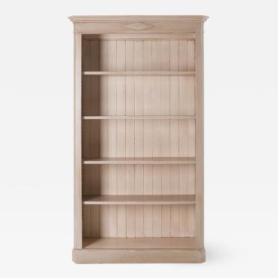 European Painted Bookcase